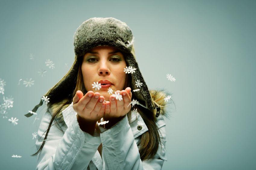 Im Winter kommt Frau modisch groß raus