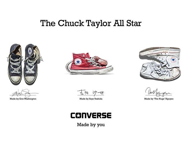Wie fallen Schuhe der Marke Converse aus